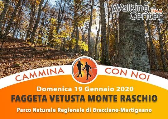 Nordic Walking nella faggeta vetusta di Monte Raschio