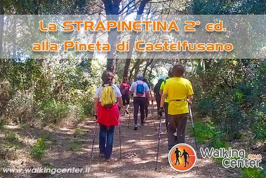La Strapinetina 2° edizione. Nordic Walking e Camminata Sportiva nella Pineta di Castelfusano
