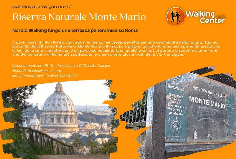Nordic Walking Riserva Naturale Monte Mario