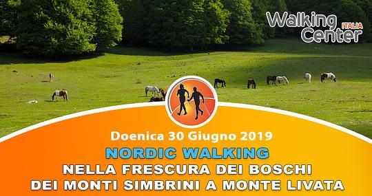 30 Giugno: camminare nella frescura dei boschi sui Monti Simbruini a Monte Livata
