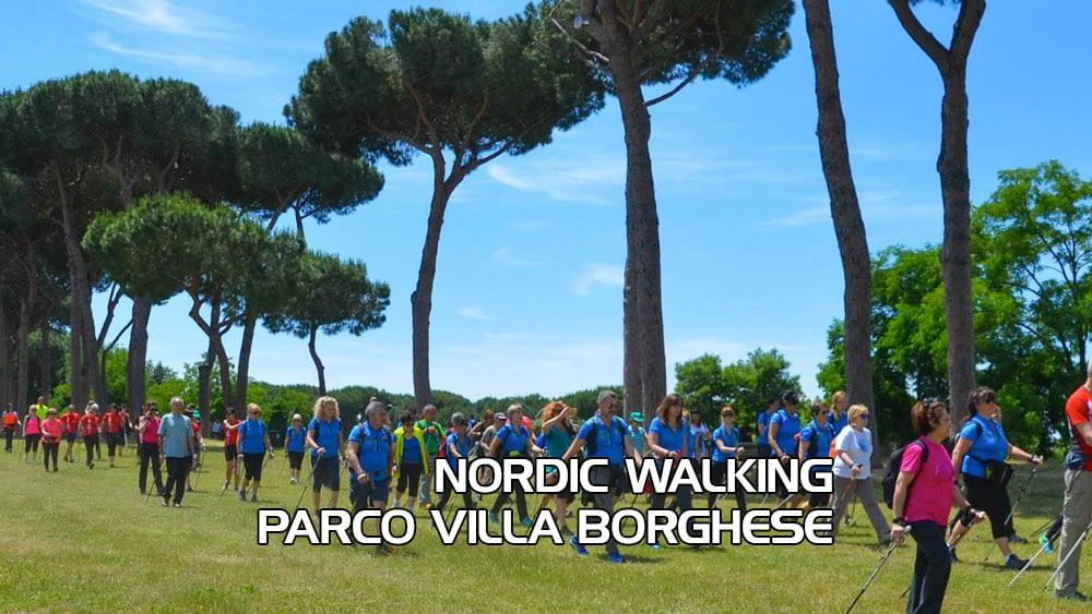Corso base Nordic Walking Parco di Villa Borghese – Domenica 28 Febbraio 2021