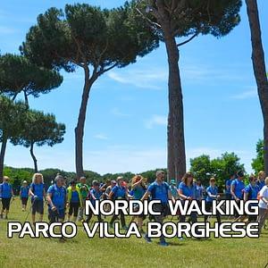 Nordic Walking Villa Borghese