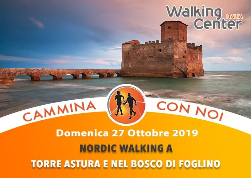 Domenica 27 Ottobre:  L'antica selva del Circeo e di Terracina: Torre Astura e il bosco di Foglino in nordic walking