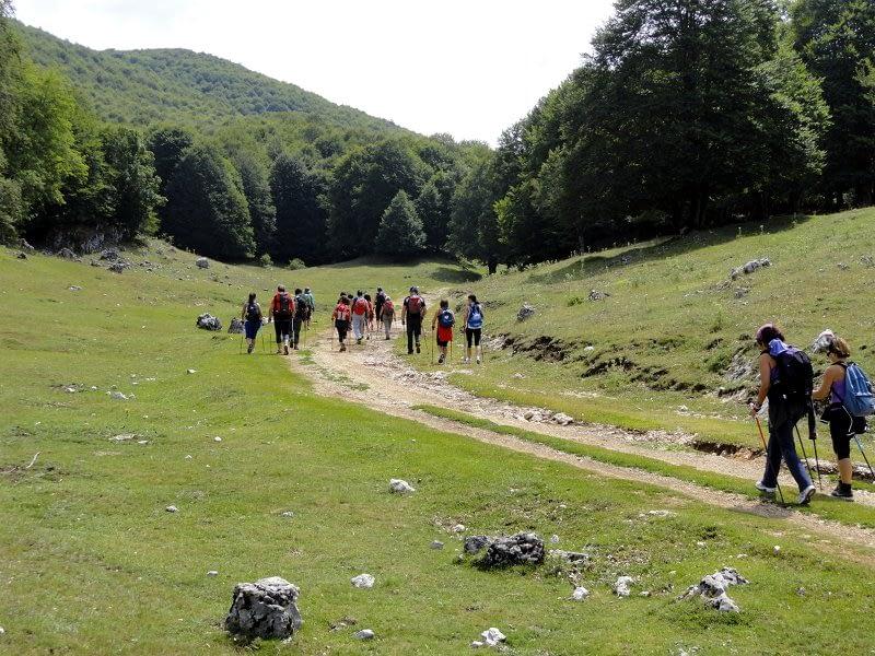 Camminata Nordic Walking Monti Simbruini
