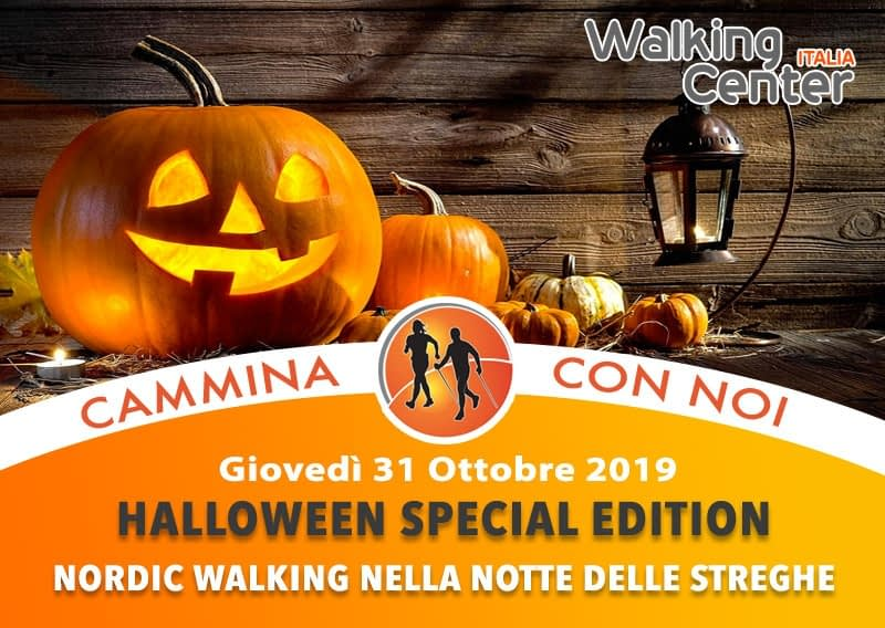 """Giovedì 31 Ottobre:  Nordic Walking """"Halloween Special Edition"""""""