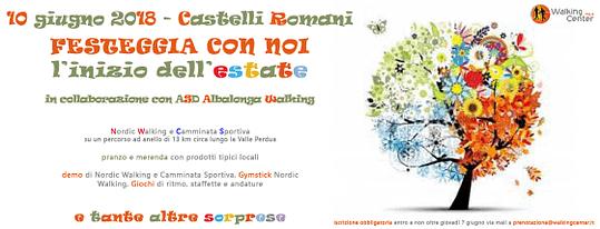 10 giugno: Festa dell'Estate ai Castelli Romani