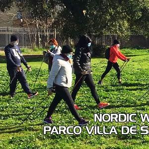 Nordic Walking Parco di villa De Sanctis