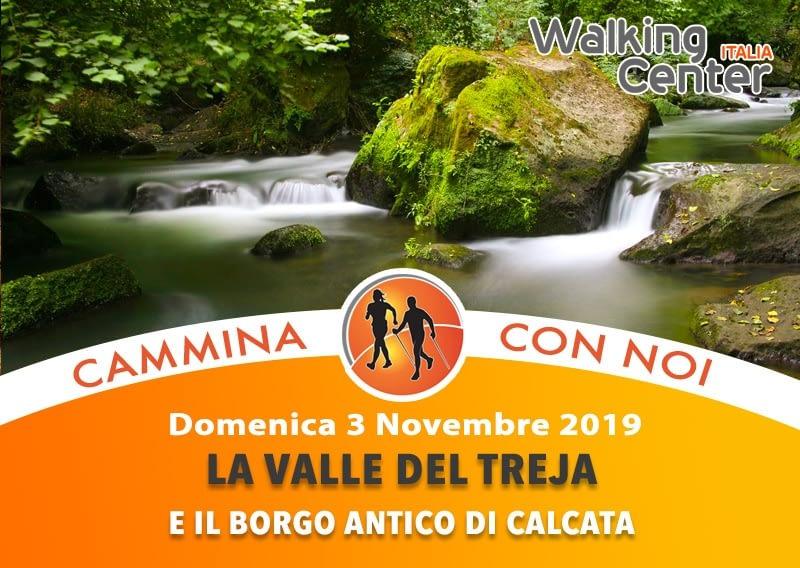 Nordic Walking lungo la Valle del Treja con visita al borgo antico di Calcata