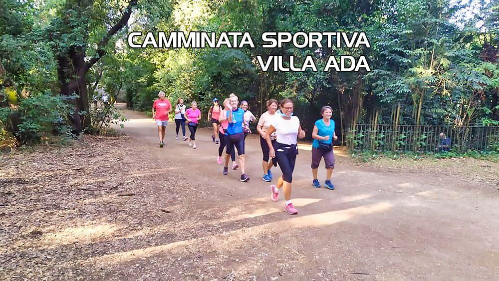 Corso base Camminata Sportiva Villa Ada – Domenica 11 Aprile 2021